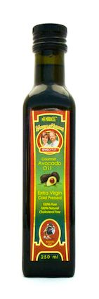 AvopHat™ Gourmet Avocado Oil Avocado oil is touted as one of the healthiest beneficial oils. It is loaded with good fats will cleanse your blood and lower total cholesterol. Our avocado oil is available in 3 flavors, Original, Garlic, and Lime. (250 ml)