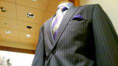 Blue Pinstripes Evolve Clothing, Blazer, Jackets, Men, Clothes, Fashion, Down Jackets, Outfits, Moda