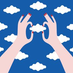 Olimpia Zagnoli / Illustration / Art / Design / Mood / Colors / Hands