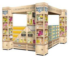 Shop in shop - Le petit Marseillais