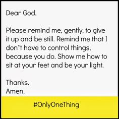 Yoke: Only One Thing: Psalm 46:10 (Week 1)