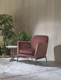 FLEXFORM stand at Salone del Mobile Milano 2016 | #FLEXFORM LUCE #armchair #design Antonio Citterio