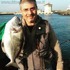 Ostia, canale dei pescatori: orata di oltre 2kg in bolognese pesca fishing