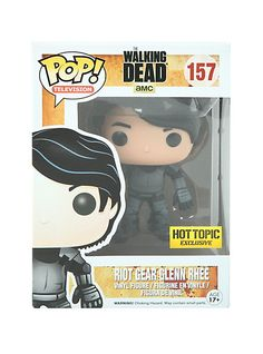 Funko The Walking Dead Pop! Television Riot Gear Glenn Rhee Vinyl Figure | Hot Topic