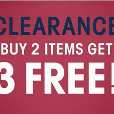 BUY 2 GET 3 FREE CLEARANCE ANY ITEMS $6 AND UNDER hurry lots of stuff brand new. Victoria secret jessica simpson steve madden Other
