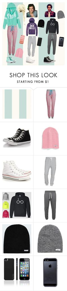 """""""Harry Styles and Bradley Simpson"""" by marine081698 ❤ liked on Polyvore featuring ONLY, Converse, Neff, Jack Wills, Acne Studios, Jack & Jones, Nicole Miller, Tavik and Victoria's Secret PINK"""