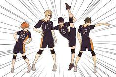 Just look at Kageyama though Look at Hinata Haikyuu Kageyama, Haikyuu Manga, Haikyuu Funny, Haikyuu Fanart, Kagehina, Oikawa, Anime Meme, Comic Anime, M Anime