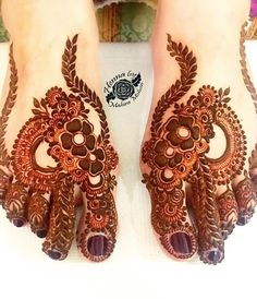Simple Feet Mehndi Designs Ideas - The Handmade Crafts Khafif Mehndi Design, Mehndi Designs 2018, Mehndi Designs For Girls, Modern Mehndi Designs, Dulhan Mehndi Designs, Mehndi Design Photos, Mehndi Designs For Fingers, Mehndi Designs For Hands, Mehandi Designs