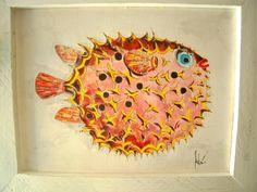 I pesci, tra fantasia e realtà di sottovento su Etsy