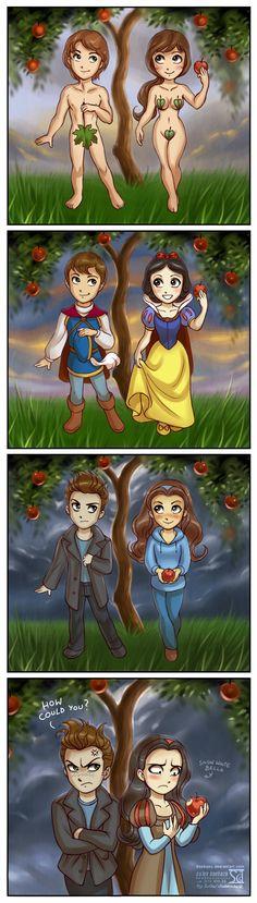 Twilight ep.16: Eve, SnowWhite and Bella by daekazu.deviantart.com