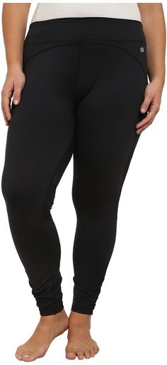 Terramar Plus Size Full Length Leggings W8848W *** Click image for more details.