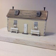 Home #driftwoodcottage #driftwood #coast #cottage #handmade #littlehouses…