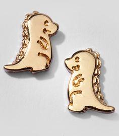 Adorasaurus Stud Earrings