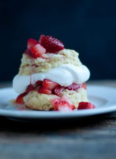 Recipe: Strawberry Shortcake From Scratch • this heart of mine