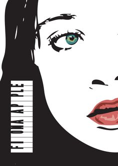 Fiona Apple's poster by Hikaru-Fer.deviantart.com on @deviantART