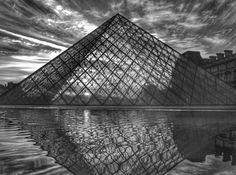 """ANGLES. LINES. SHAPES."" : @dsfotografie_nl  #shapes #sharp #paris #blackandwhite #france #international #tuesday #travel #sculpture #water #ec #epicureancommune #webzine #magazine #nj #nyc #newjersey #newyorkcity #newyork #art #artist #photography #create"