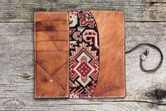 Whim Wham Wallet Deerskin No 14   Barrett Alley - Handmade in USA-SR