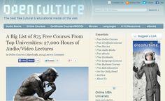 875 cursos gratis en línea de Universidades como Oxford, Yale, Harvard y el MIT (pineado por @PabloCoraje)