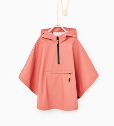 Rubberised hooded cape-View all-OUTERWEAR-Girl-Kids   4-14 years-KIDS   ZARA United States
