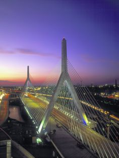 Leonard P. Zakim Bunker Hill Bridge, Boston