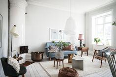 A Swedish home I love.    Foto: Bjurfors/Alen Cordic    Styling av Emma Fisher