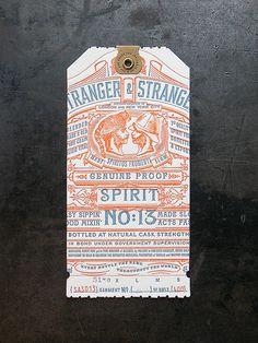 Stranger & Stranger Spirit Tag