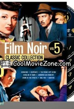Film Noir Classic Collection: Volume Five (Cornered / Desperate / The Phenix City Story / Deadline at Dawn / Armored Car Robbery / Crime in the Streets / Dial 1119 / Backfire) ⋆ PlayTheMove Dolby Digital, Armored Vehicles, Armored Car, John Mcintire, Phenix City, John Cassavetes, Guy, Blu Ray, Classic Collection