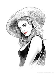 38 Fashion Illustration by Anna Ulyashina