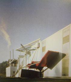 Grupa Coop Himmelblau, fabryka wyrobów papierowych w St. Veit, 1988-1989