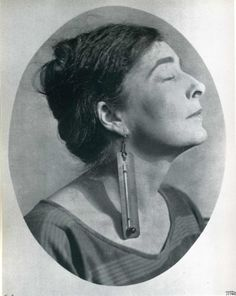 Mina Loy | By Man Ray
