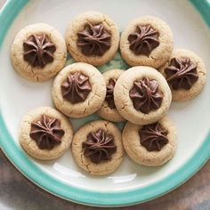 Peanut Butter Blossoms - these cookies keep up to three month in the freezer. More cookie ideas: http://www.bhg.com/holidays/#page=1