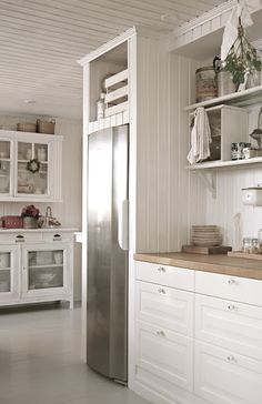 something like this cubby to extend the lines of the new built in cabinets