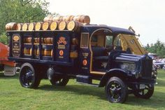 1919 White Labatt's beer truck