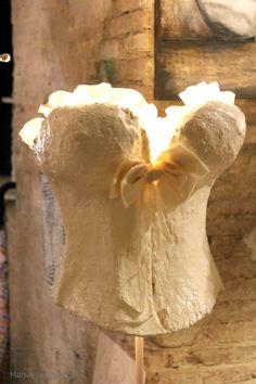 paper mache corset