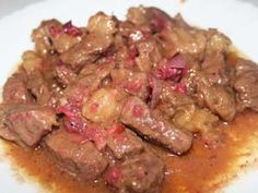 Binagoongang baboy was a popular dish but some people don't eat pork and some, especially those OFW who are working in the middle east can't eat pork because it Pinoy Food, Filipino Food, Filipino Recipes, Pork Recipes, Crockpot Recipes, Cooking Recipes, Baka Recipe, Panlasang Pinoy Recipe, Philippine Cuisine