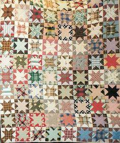 Civil War Quilts: Stars in a Time Warp 15: Woven Plaids