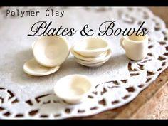 BRILLIANT SIMPLE TUTORIAL  Bowls & Plates ~ Polymer Clay Tutorial