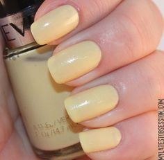 Revlon Sunshine Sparkle, Swatched, $1.50. Free with a purchase of $10.
