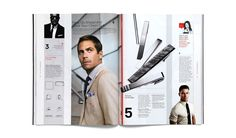 Use of vertical elements GQ Style Manual - SI Special // Triboro Design Editorial Design Layouts, Magazine Page Layouts, Magazine Layout Design, Layout Inspiration, Graphic Design Inspiration, Catalogue Layout, Yearbook Design, Gq Style, Publication Design
