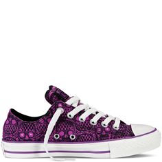 More for my Converse collection. Need this skull print!