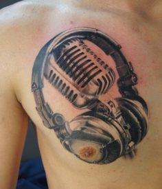 dessin tatouage musique 151