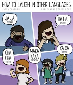 How to laugh in other languages