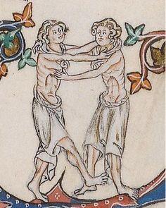 Gorleston Psalter (British Library, Add MS 49622, f. 101r, c. 1310 – 1324