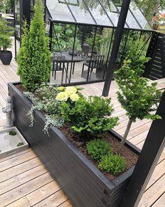 Outdoor Spaces, Outdoor Living, Outdoor Decor, Garden Design, House Design, House By The Sea, Garden Buildings, Diy Patio, Garden Inspiration