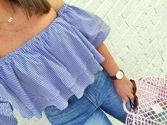Summer Fashion: OTS Ruffle Top and Denim • Julia Marie B Fashion 2018, Fashion Trends, Fashion Bloggers, Women's Fashion, Stylish Outfits, Fashion Outfits, Trendy Girl, Fashion For Women Over 40, Ruffle Top