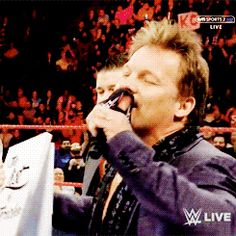 Chris Jericho is on such a roll he almost got Kevin Owens & Mick Foley to break character and laugh on WWE Raw - Cageside Seats
