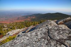 View from the summit of Mt. Monadnock, New Hampshire