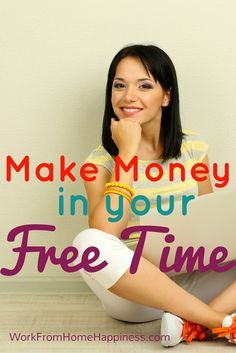 Work from home in your free time and earn extra money each month with micro jobs and short task sites!