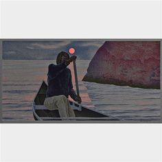 Artwork by Alex Colville, Sunrise, Made of Serigraph printed in colours