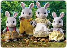 [SF] Cottontail Rabbit Family buy on Sylvanian Families. , offer Sylvanian Families at discounted rate in Sylvanian Families The Bear Family, Family Set, Family Dogs, Sylvania Families, Calico Critters Families, Nostalgia, Enchanted Wood, Childrens Gifts, Retro Toys